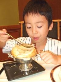 ふかひれスープのパイ包み