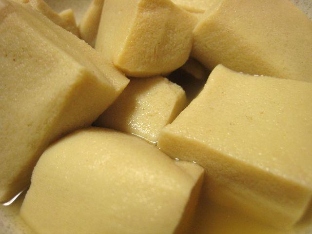 高野豆腐煮