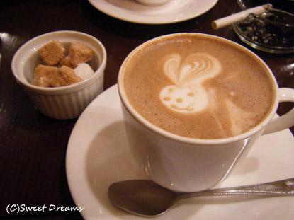 ほっとカフェラテ。