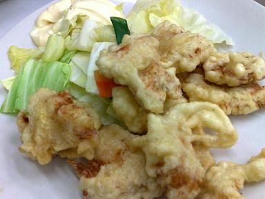 大貫 地鶏の天ぷら