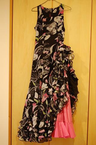 タンゴ・デ・マラガの衣装