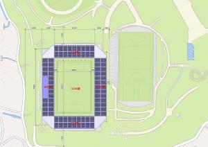 第一球技場改修計画