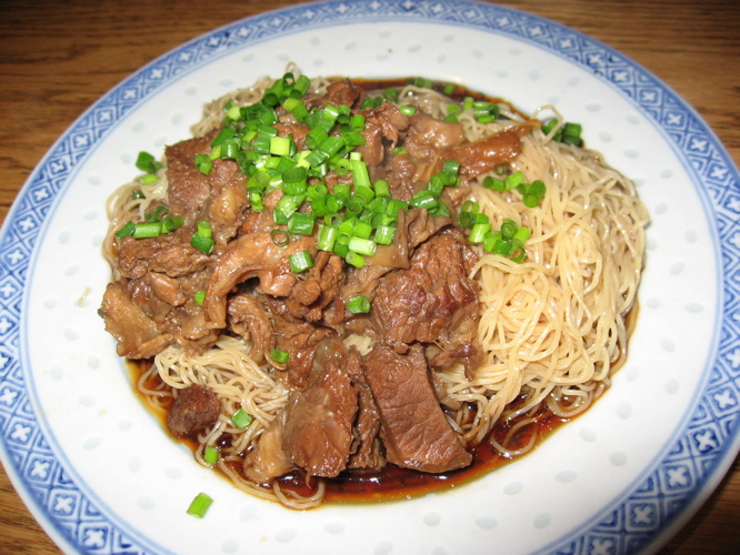 新記牛バラ撈麺