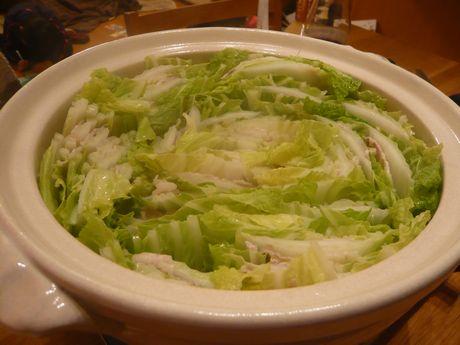 白菜豚バラ鍋2