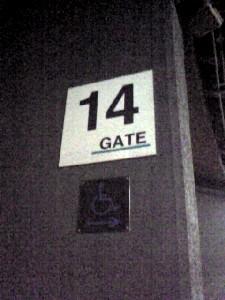 国立14ゲート