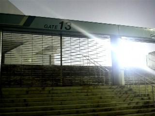 CCM13番ゲート