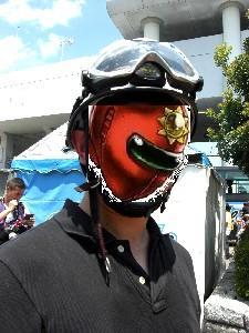 はしご車ヘルメット