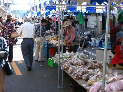 加茂市特産の農産物の販売