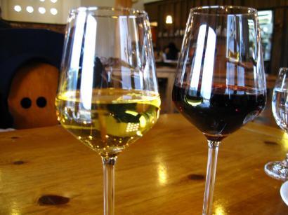 赤ワイン&白ワイン