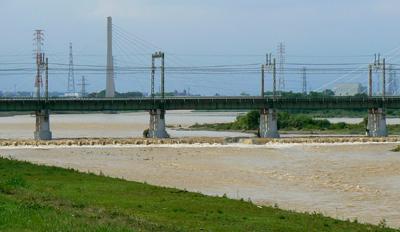 20080829の多摩川-2