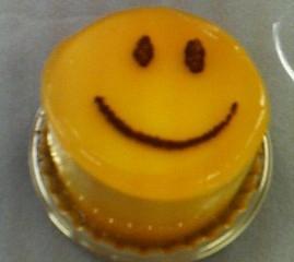 マンゴーケーキ(中にチョコ)