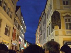 プラハ旧市街路地