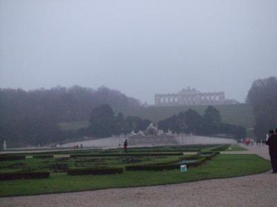 シェーンブルン宮殿裏庭