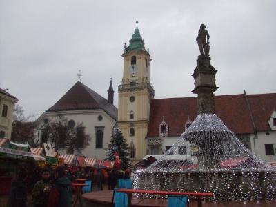 ブラチスラバクリスマスマーケット