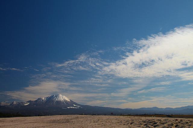 大山の見える風景~皆生より眺望