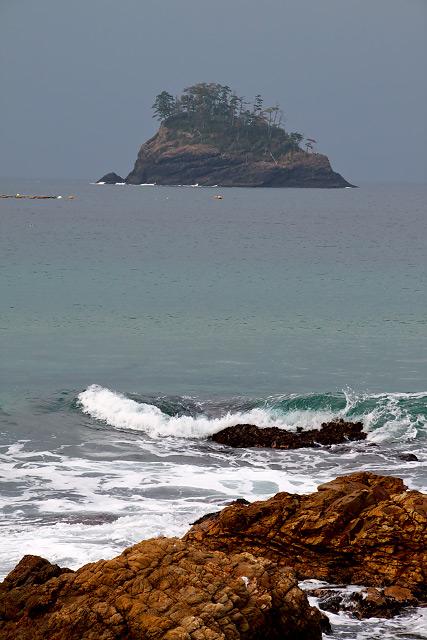 松江市島根町大芦~須々海海岸の洗濯岩