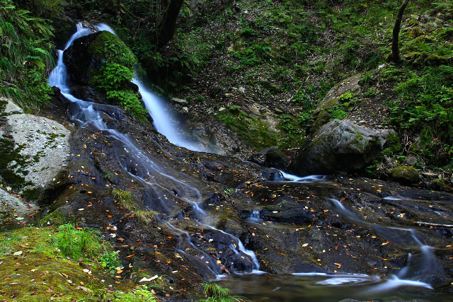 「龍頭ヶ滝」島根県掛合町