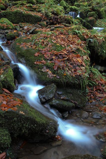 布引の滝 雨滝