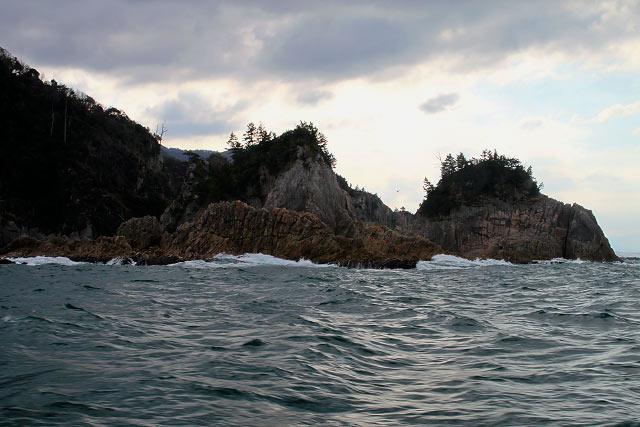 山陰海岸国立公園~浦富海岸・島めぐり遊覧船