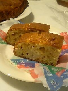 081209バナナケーキ