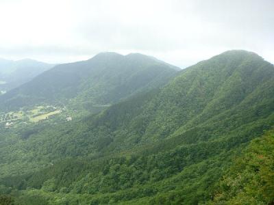 金時山中腹からの景色2
