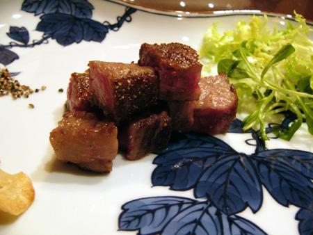 うかい牛のサーロインステーキ