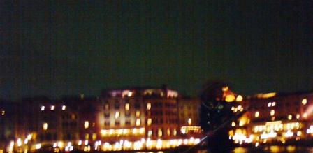 夜のゴンドラから