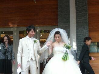 藤村君結婚式1