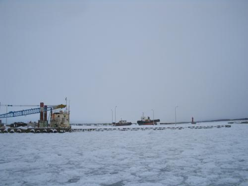 流氷沙留港