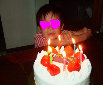 次男6歳の誕生日1