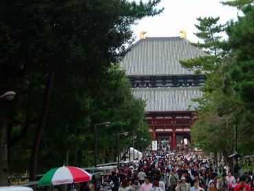 奈良日帰り旅行1