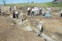 平泉町の柳之御所遺跡