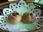 胡桃とレーズンの手作りパン