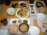 鶏肉のゆず胡椒味噌焼き定食