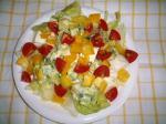 豆腐とアボガドときゅうりのマヨワササラダ