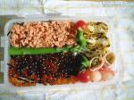 いくら鮭丼弁当