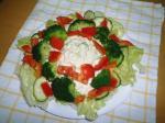 アボカドと絹ごし豆腐のマヨわさサラダ