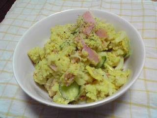 ポテサラ(カレー味)