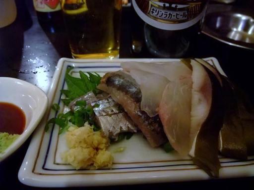 刺盛り(サンマ・ヒラメ・〆サバ)