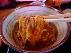 遊山(辛味麺上げ)