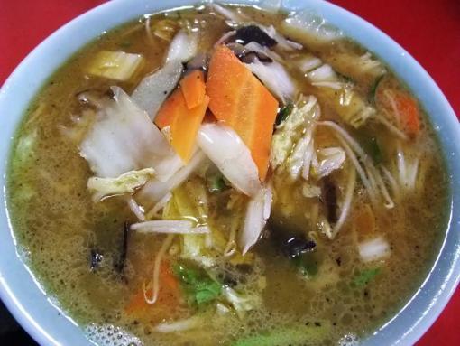 萬来軒(素菜湯麺)