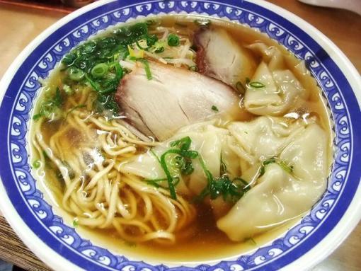 淡水軒(ワンタン麺)