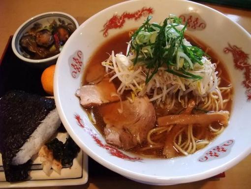 田平屋(ラーメン定食)