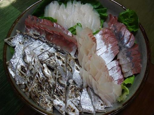 太刀魚盛り合わせ