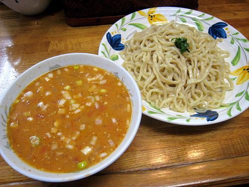 トマトのつけ麺