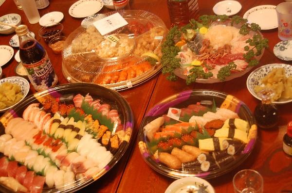 12.31 大晦日パーティ ご飯