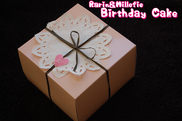 2.5 Rarin Millefie Birthday Cake