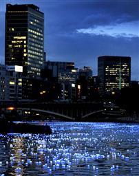 七夕の大川