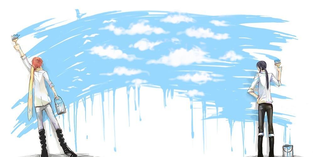 空を 描くのが 僕らの仕事