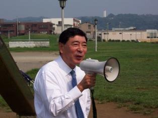 石渡鎌倉市長のご挨拶